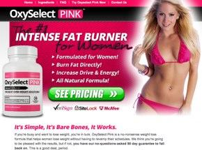oxy select pink weight loss pills