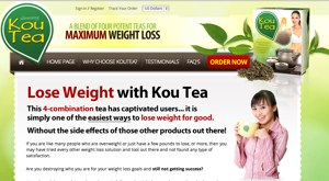Kou Tea website