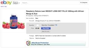 Raspberry Ketone Lean Ebay
