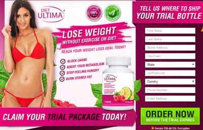 Diet Ultima website