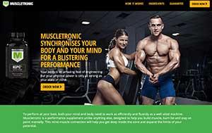 Muscletronic website
