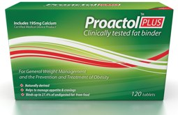 Proactol Plus fat binder and appetite suppressant