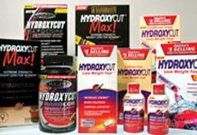 Hydroxycut diet pill range