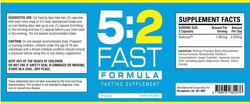 what is in the 52 fast formula