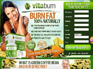 Vitaburn official website with a trial offer