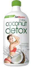 Fat Blaster coconut detox 2 day plan