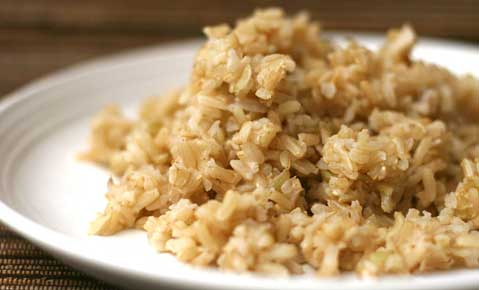 Brown Rice is  a healthy carb