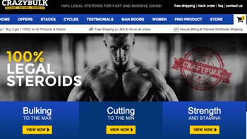 CrazyBulk website for Clenbutrol