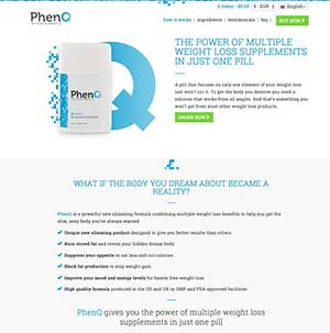 Phenq Website Australia