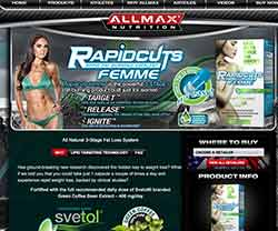 Rapid Cuts Femme website