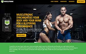Muscletronic website