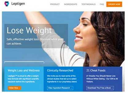 Leptigen website